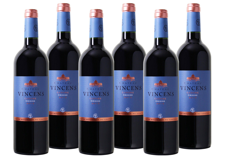 Rotwein aus Frankreich »14 % - 6 x 0,75 l - Château Vincens 2015«