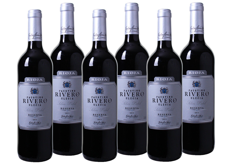 Rotwein aus Spanien »13,0% 6 x 0,75 Liter - Faustino Rivero Ulecia 2013«
