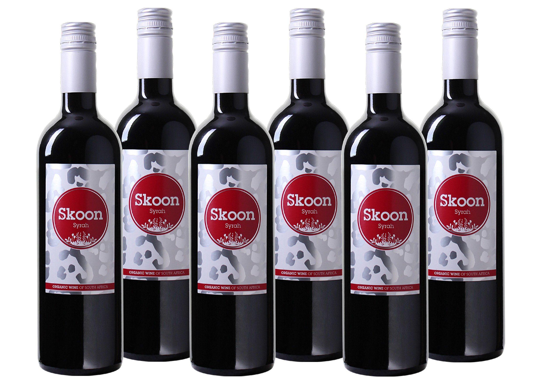 Rotwein aus Südafrika »13,5% 6 x 0,75 Liter - Skoon 2021«