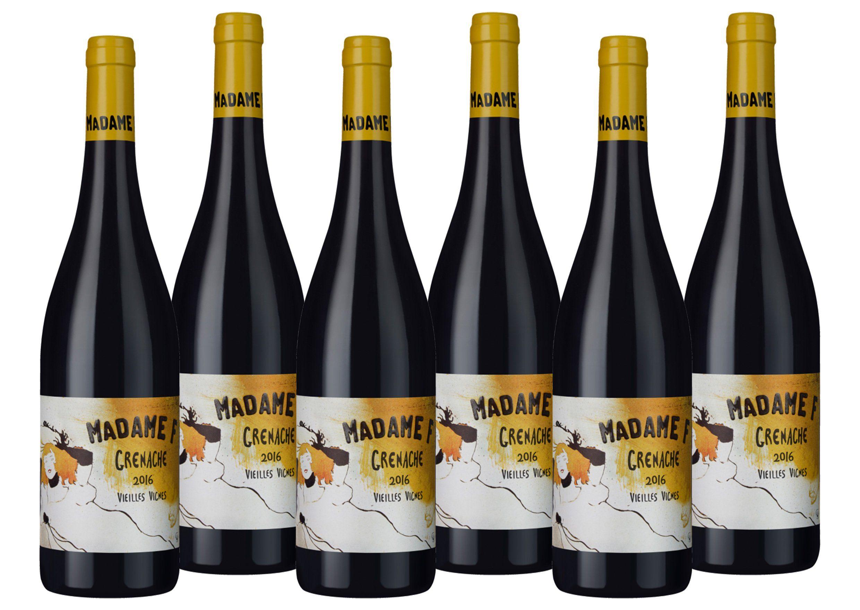 Rotwein aus Frankreich »14,5 % - 6 x 0,75 l - Madame F 2016«