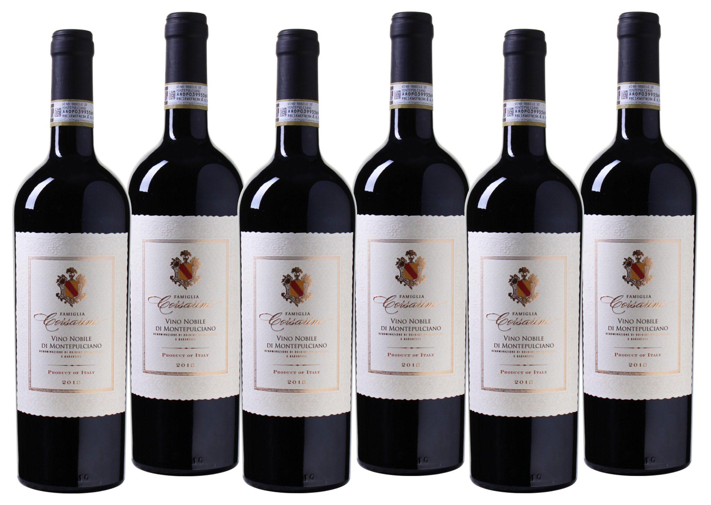 Rotwein aus Italien »13,5% 6 x 0,75 Liter - Famiglia Corsarini 2013«