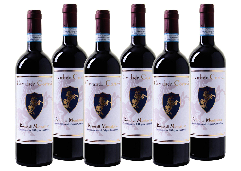 Rotwein aus Italien »14 % - 6 x 0,75 l - Cavalier Cortesi 2015«