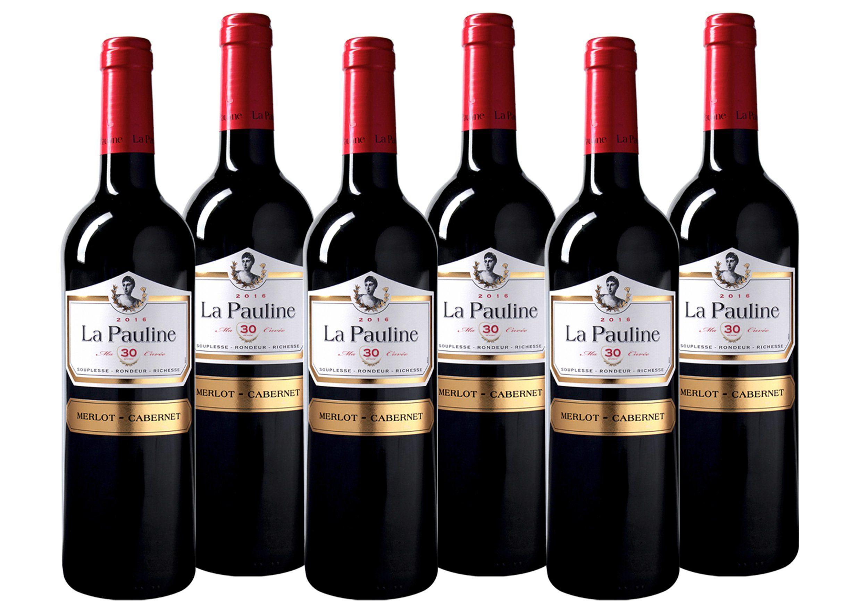 Rotwein aus Frankreich »13,0% 6 x 0,75 Liter - La Pauline 2016«