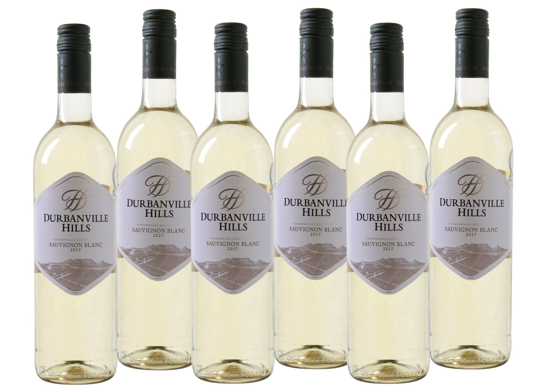 Weißwein aus Südafrika »14,0% 6 x 0,75 Liter - Durbanville Hills 2017«