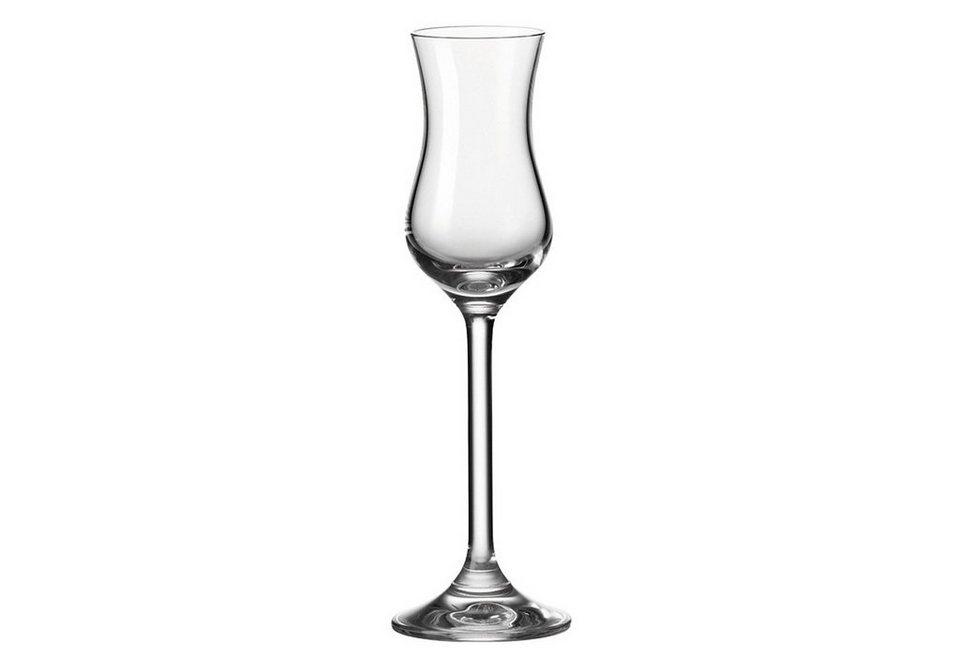 Set: Grappaglas, Leonardo, »Daily« (6-tlg.) in klar