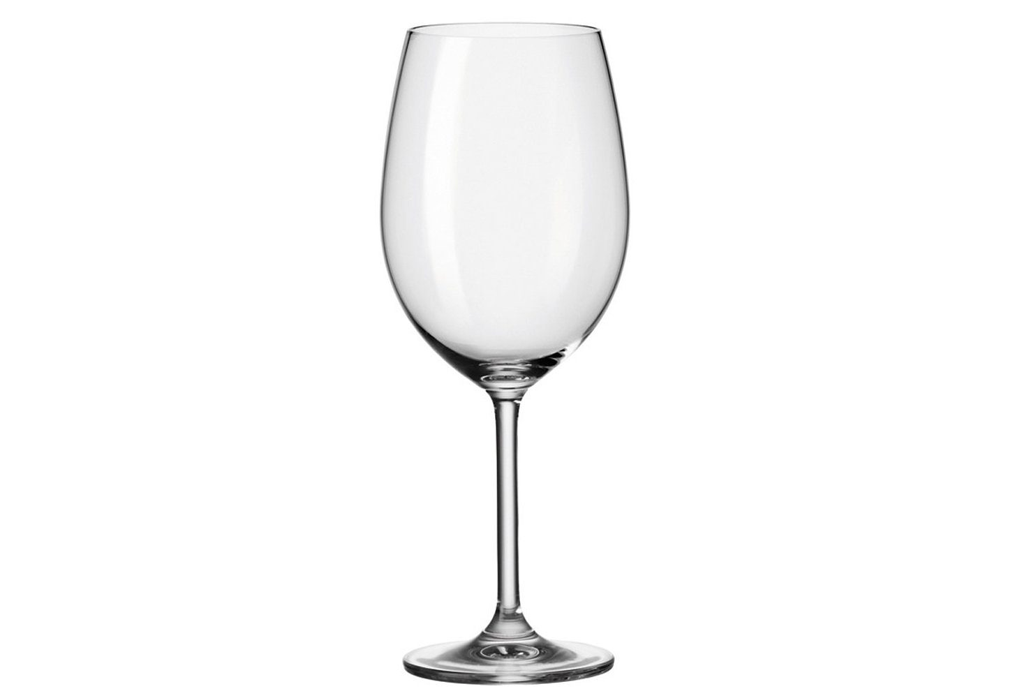 Set: Bordeauxglas, Leonardo, »Daily« (6-tlg.)