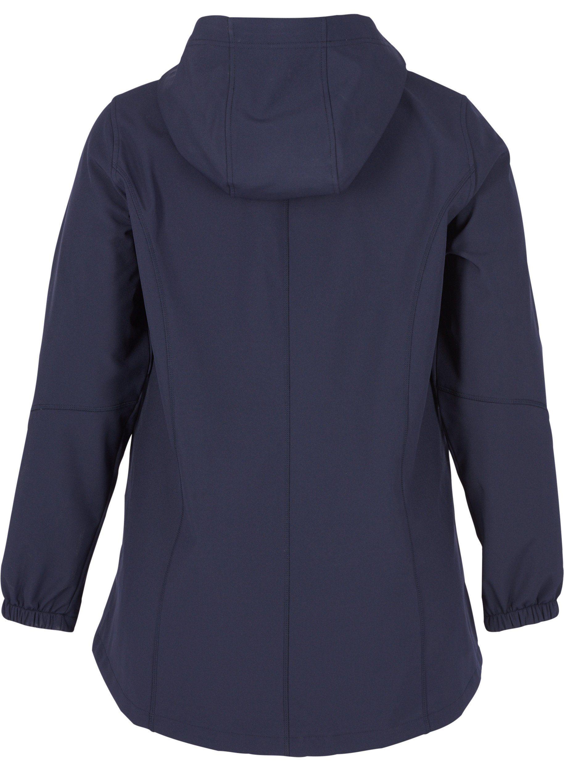 Zizzi Outdoorjacke Damen Große Größen Softshell Jacke Kapuze Online Kaufen