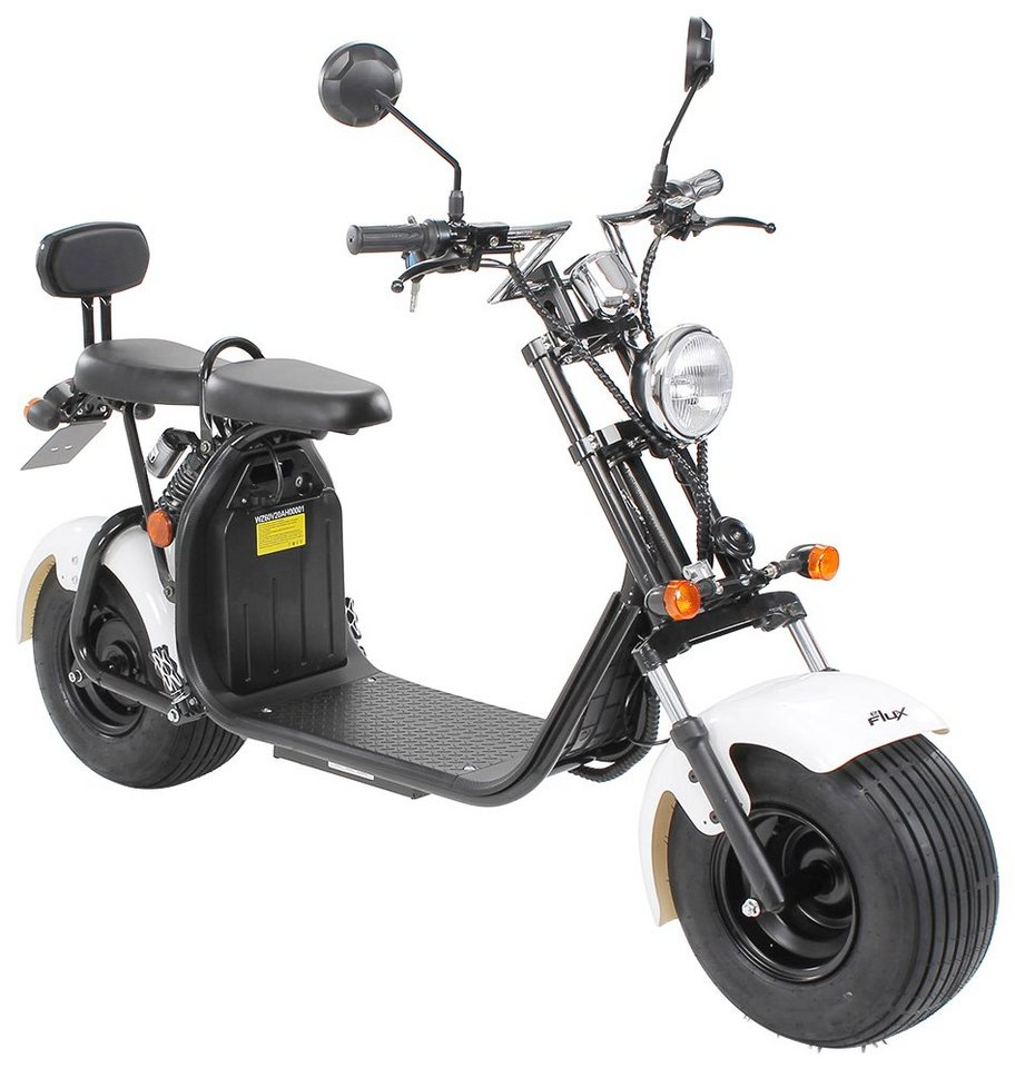 eflux e scooter harley two 1500 watt 45 km h otto. Black Bedroom Furniture Sets. Home Design Ideas