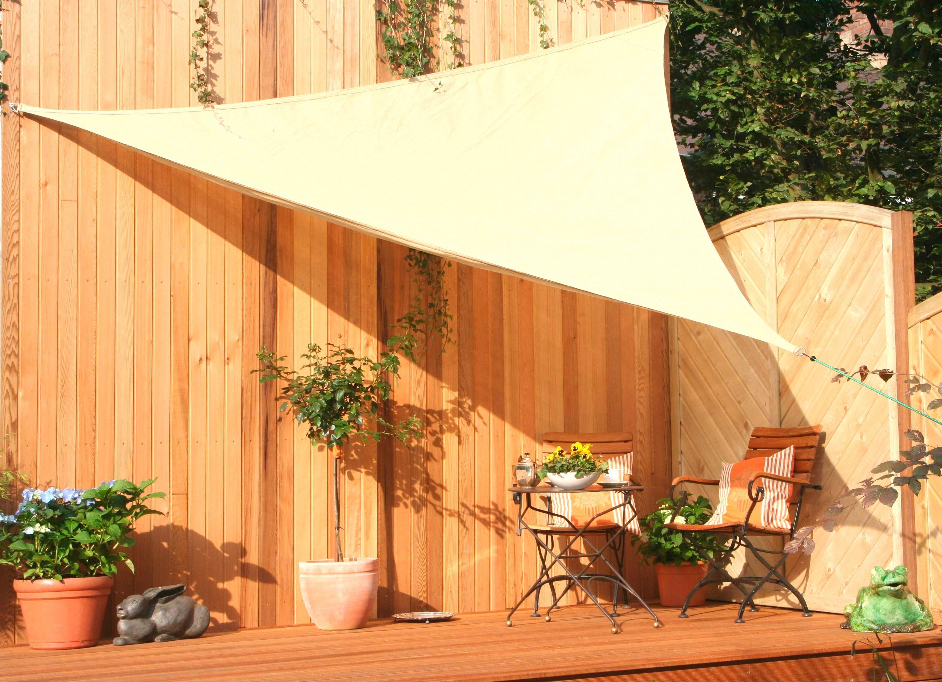 FLORACORD Sonnensegel Schenkellänge: 300 cm