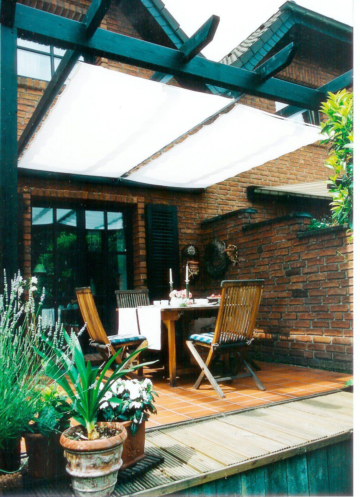 FLORACORD Sonnensegel mit Seilspann-Set, BxL: 420x140 cm, 1 Feld