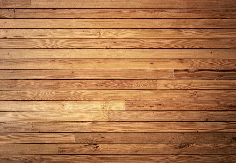 IDEALDECOR Fototapete »Gemütliche Holzwand«, BlueBack, 4 Bahnen, 368 x 254 cm