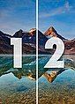 IDEALDECOR Fototapete »Magog See Kanada«, Vlies, 2 Bahnen, 183 x 254 cm, Bild 4