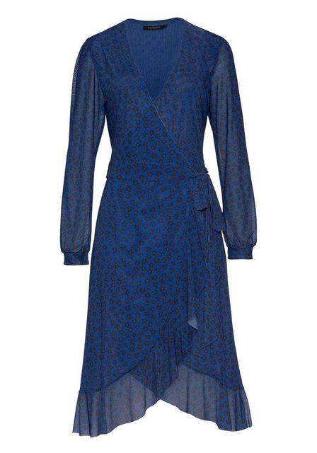 - Damen SOAKED IN LUXURY Wickelkleid mit floralem Muster schwarz | 05713344477951