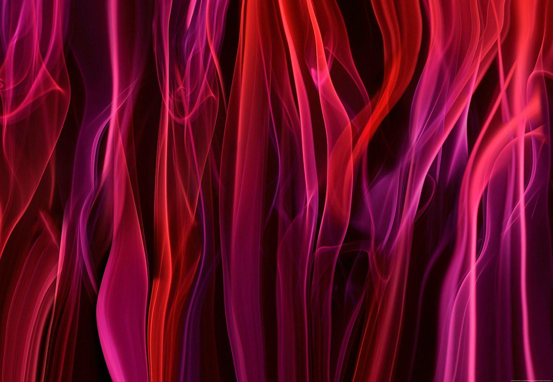 IDEALDECOR Fototapete »Roter Rauch«, BlueBack, 4 Bahnen, 368 x 254 cm