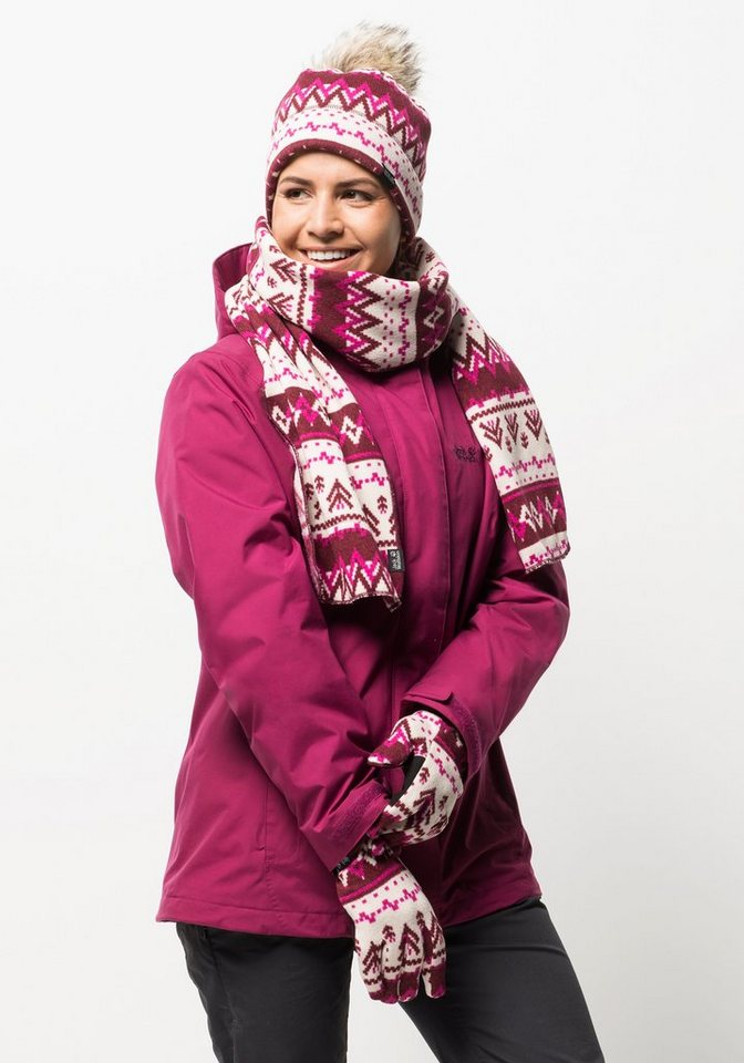 Jack Wolfskin Fleecehandschuhe »SCANDIC GLOVE WOMEN« | Accessoires > Handschuhe > Fleecehandschuhe | Rot | Polyester | Jack Wolfskin