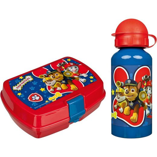 UNDERCOVER Pausenset Trinkflasche/Brotdose PAW Patrol