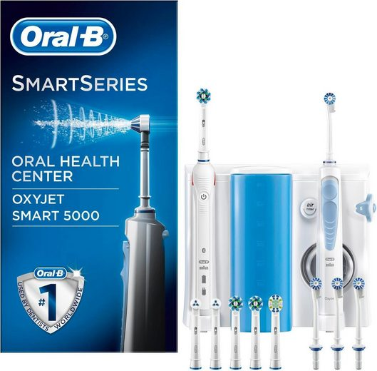 Oral B Mundpflegecenter »OxyJet Munddusche + Oral-B Smart 5000«