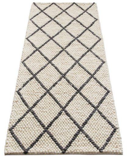Läufer »Lior«, My HOME, rechteckig, Höhe 10 mm, Nutzschicht aus Wolle