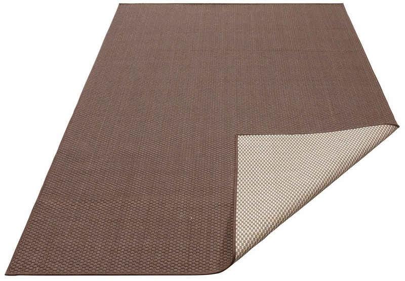 Teppich »Rhodos«, my home, rechteckig, Höhe 3 mm, Sisal-Optik, In- und Outdoor geeignet, Wohnzimmer