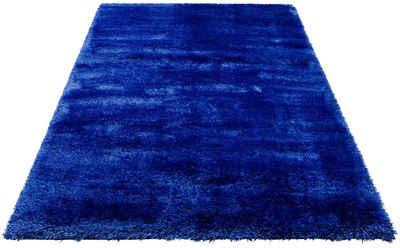 Hochflor-Teppich »Mikro Soft Super«, my home, rechteckig, Höhe 50 mm, Besonders weich durch Microfaser, extra flauschig, Wohnzimmer