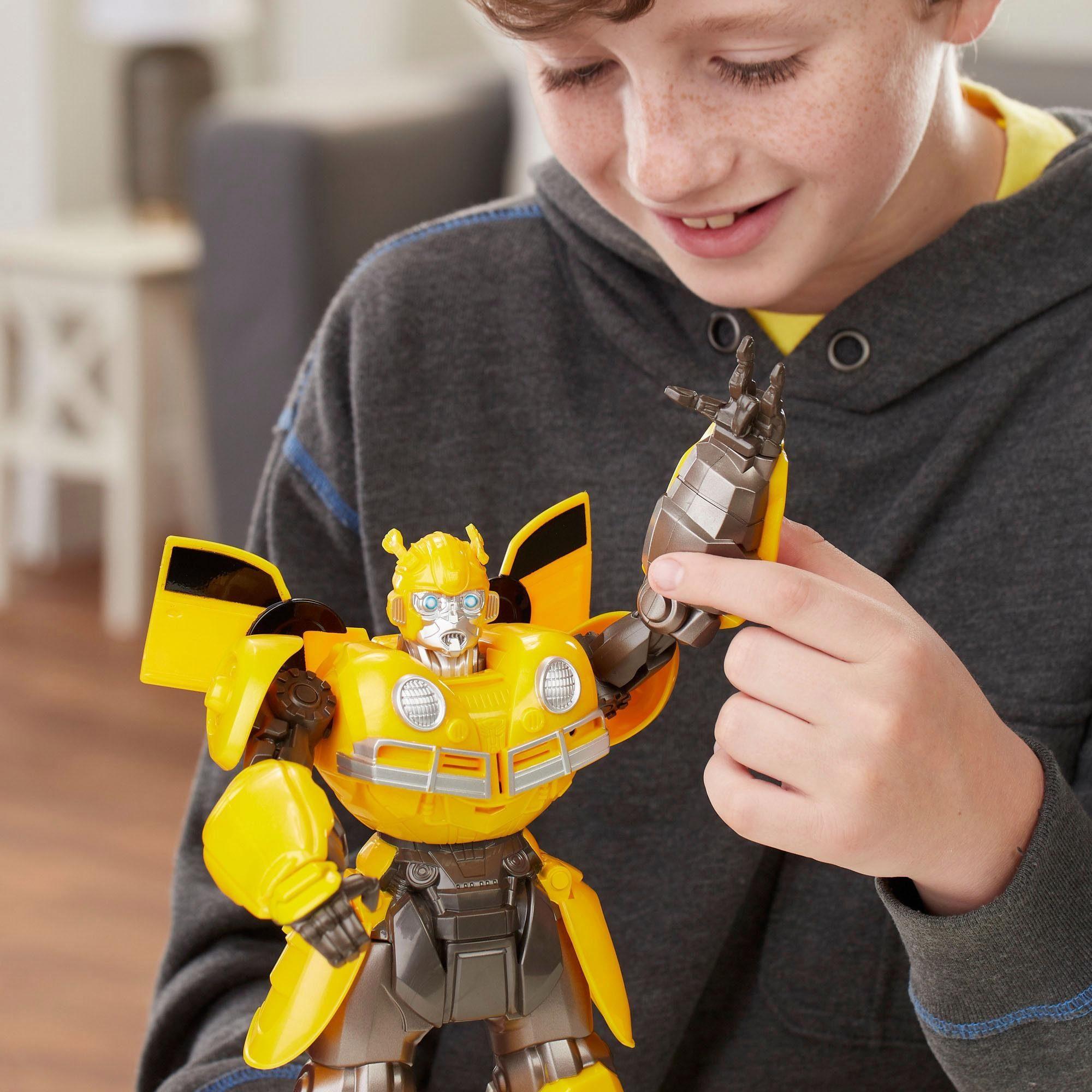 Hasbro Spiefigur mit Sound, »Transformers Movie 6: DJ Bumblebee«