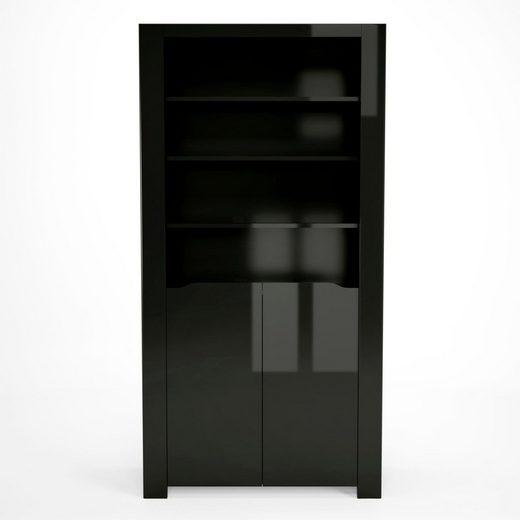 INOSIGN Vitrine »Orlando« mit modernen Türendetails und vielen Fächern, Breite 92 cm