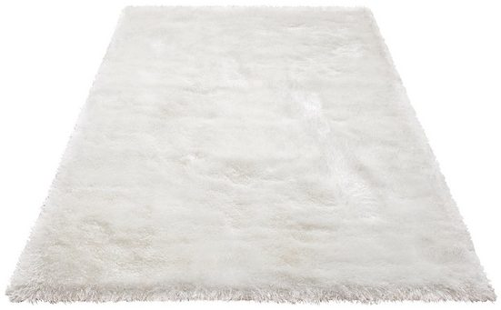 Hochflor-Teppich »Mikro Soft Super«, my home, rechteckig, Höhe 50 mm, Besonders weich durch Microfaser