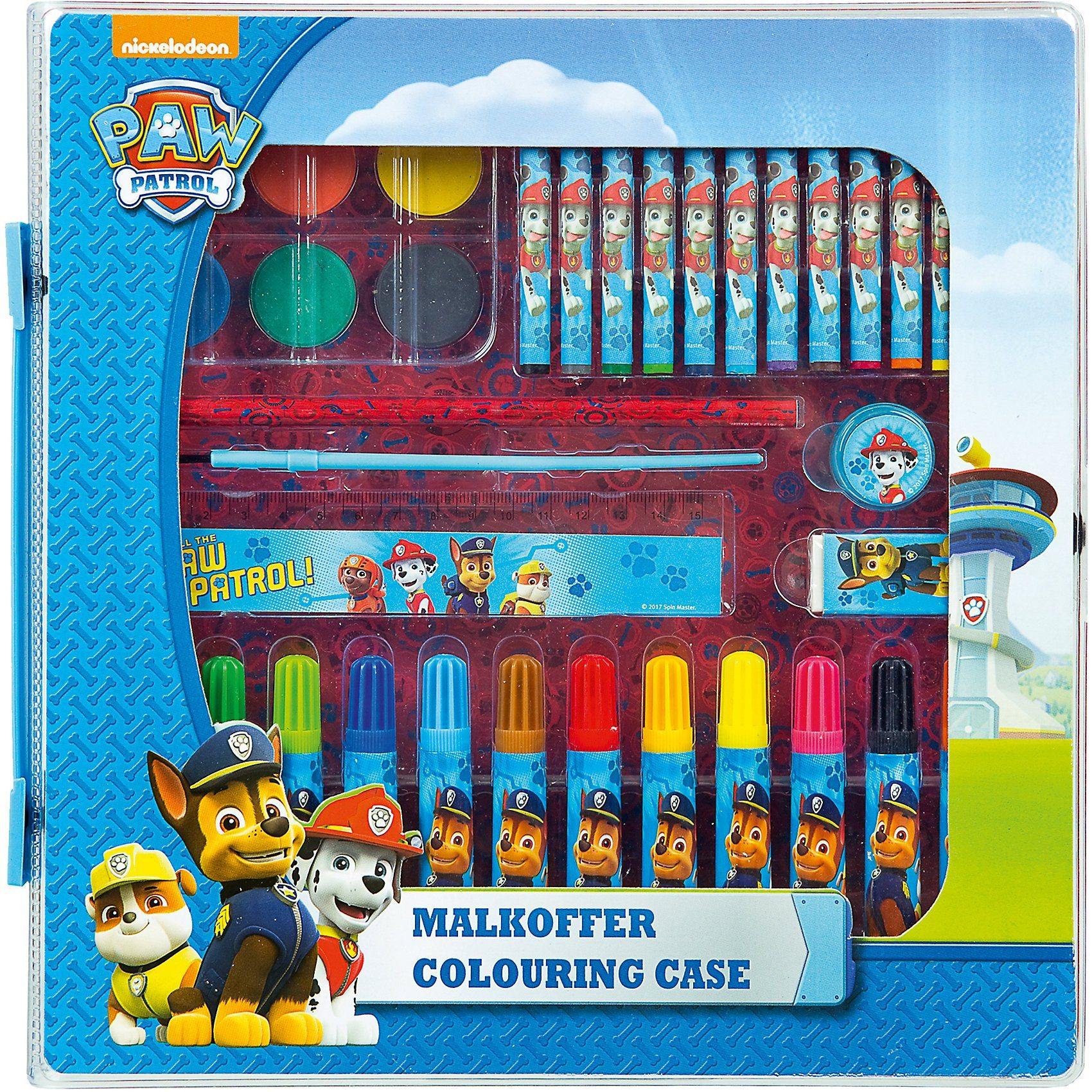 UNDERCOVER Malkoffer PAW Patrol, 24-tlg.