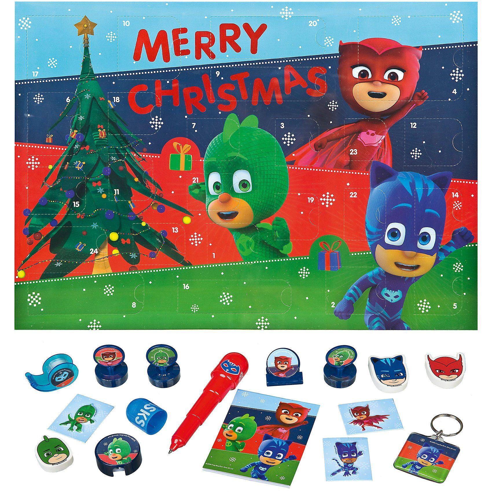 UNDERCOVER Mal- und Spaß-Adventskalender PJ Masks