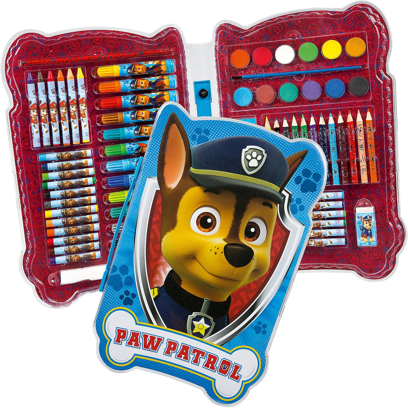 UNDERCOVER Malkoffer Shape PAW Patrol, 73-tlg.