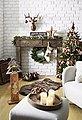 Kaminumbauschrank mit verspielten Ornamenten, Bild 4