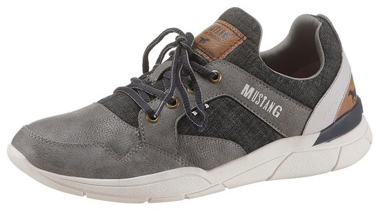 Mustang Shoes Sneaker in coolem Farb- und Materialmix