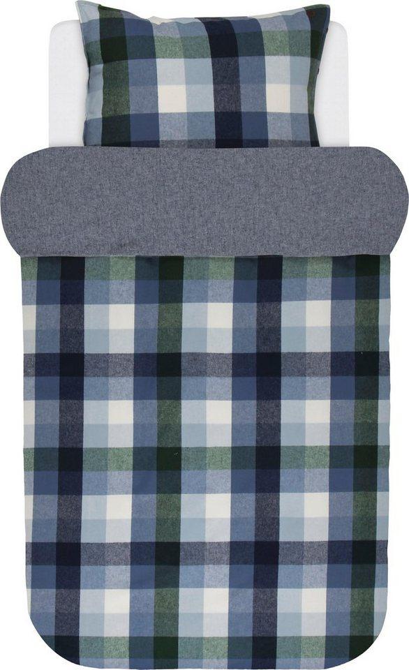 wendebettw sche viko marc o 39 polo home mit unifarbener. Black Bedroom Furniture Sets. Home Design Ideas