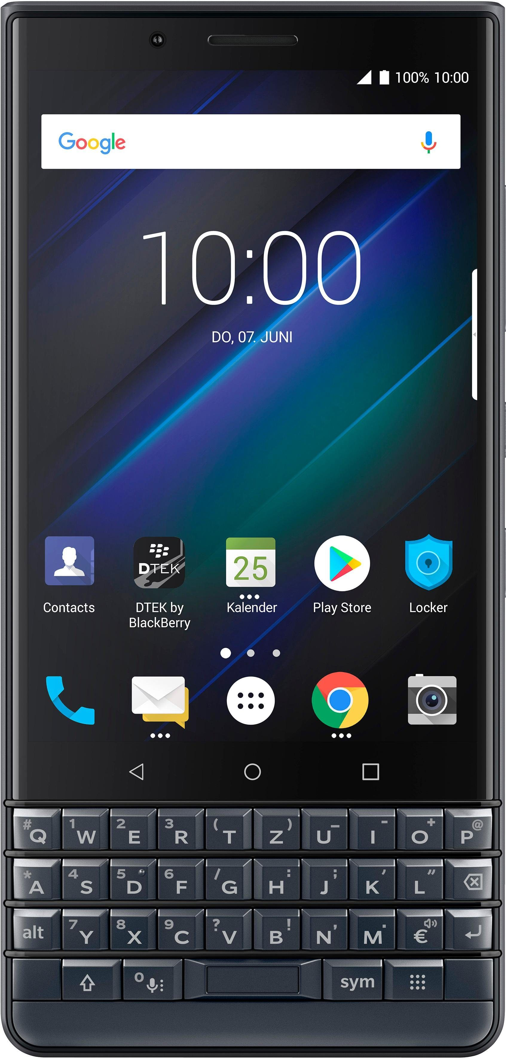Blackberry KEY2 LE Smartphone (11,43 cm/4,5 Zoll, 64 GB Speicherplatz, 13 MP Kamera)