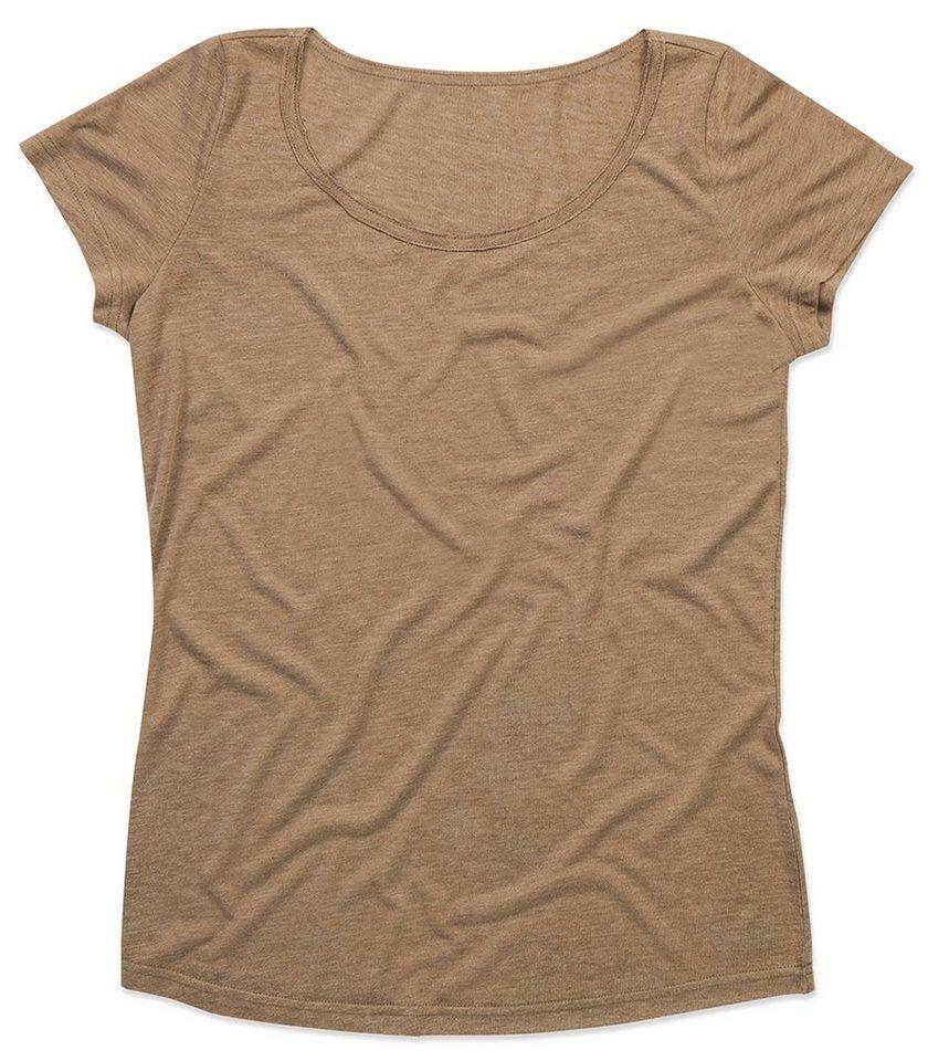 Stedman Oversize-Shirt in schlichtem Design | Bekleidung > Shirts > Oversize-Shirts | Braun | Polyester - Viskose | Stedman