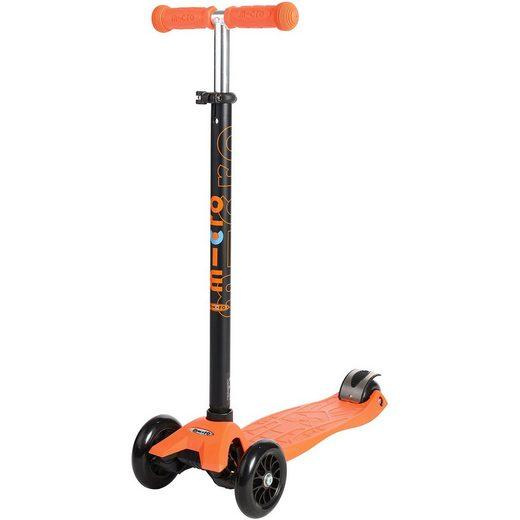 Micro Twist-Scooter maxi mit T-Lenker, orange