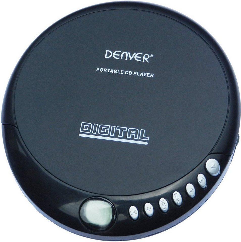 denver portabler cd player dm 24 online kaufen otto. Black Bedroom Furniture Sets. Home Design Ideas