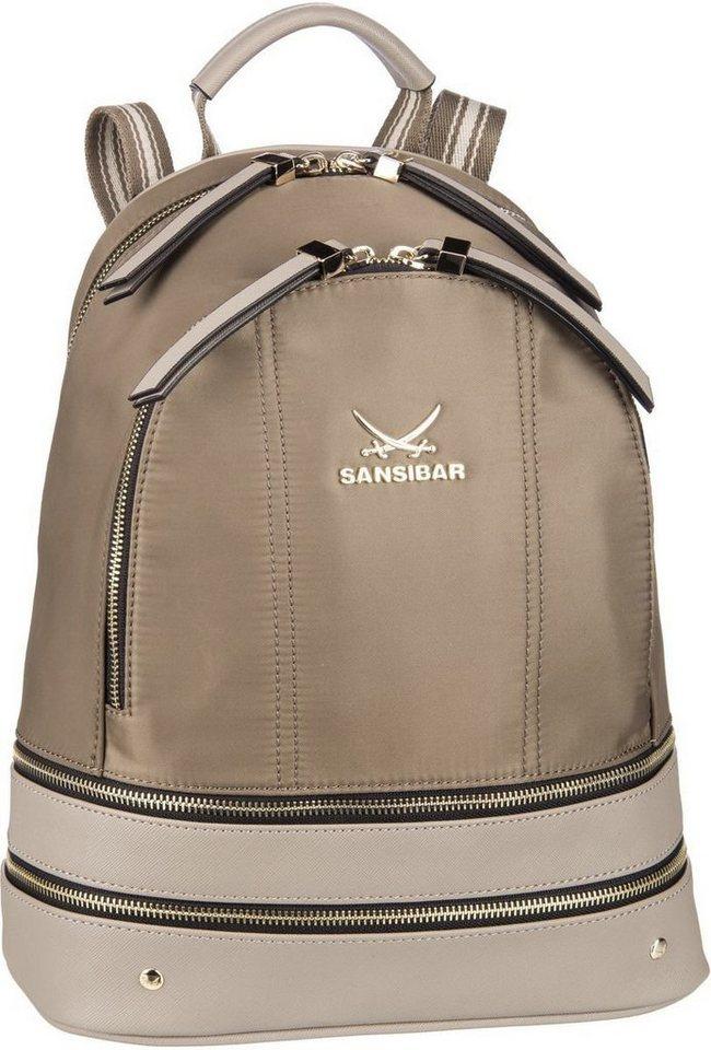 Damen Sansibar Rucksack  Daypack Backpack 1276 braun   04022581299006