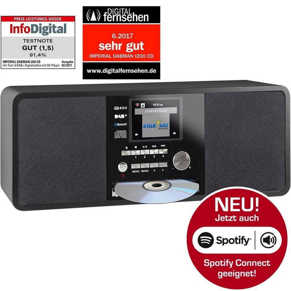 imperial cd digitalradio f r dab internetradio spotify. Black Bedroom Furniture Sets. Home Design Ideas
