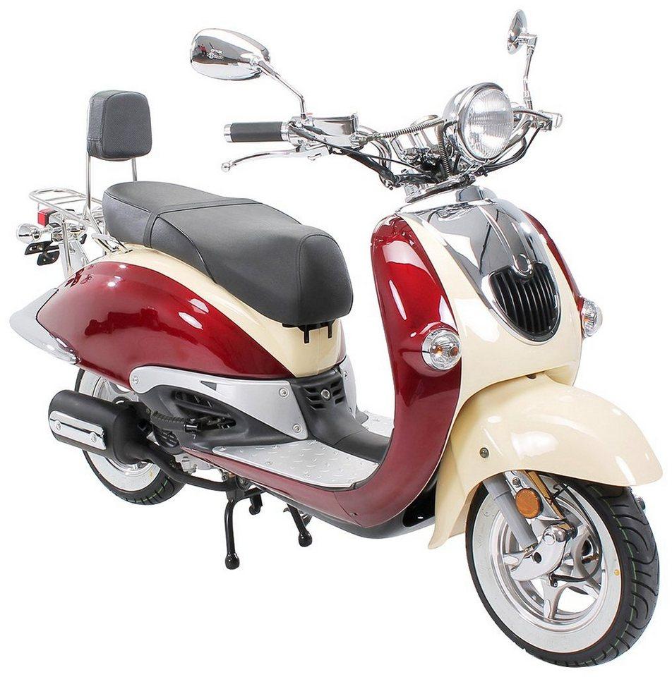 znen motorroller retro scooter zn50qt h 50 ccm 45 km h online kaufen otto. Black Bedroom Furniture Sets. Home Design Ideas
