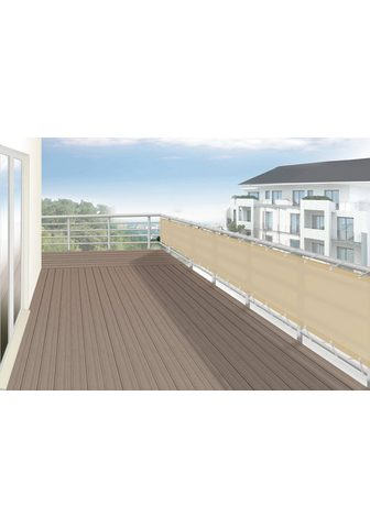 FLORACORD Balkono sienelė BxH: 500x90 cm sisal