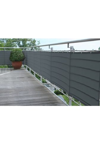 FLORACORD Balkono sienelė BxH: 300x90 cm anthraz...
