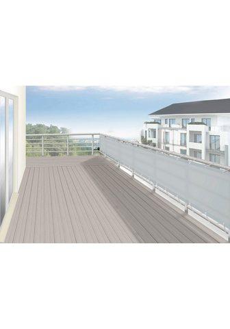 FLORACORD Balkono sienelė BxH: 300x90 cm silberg...