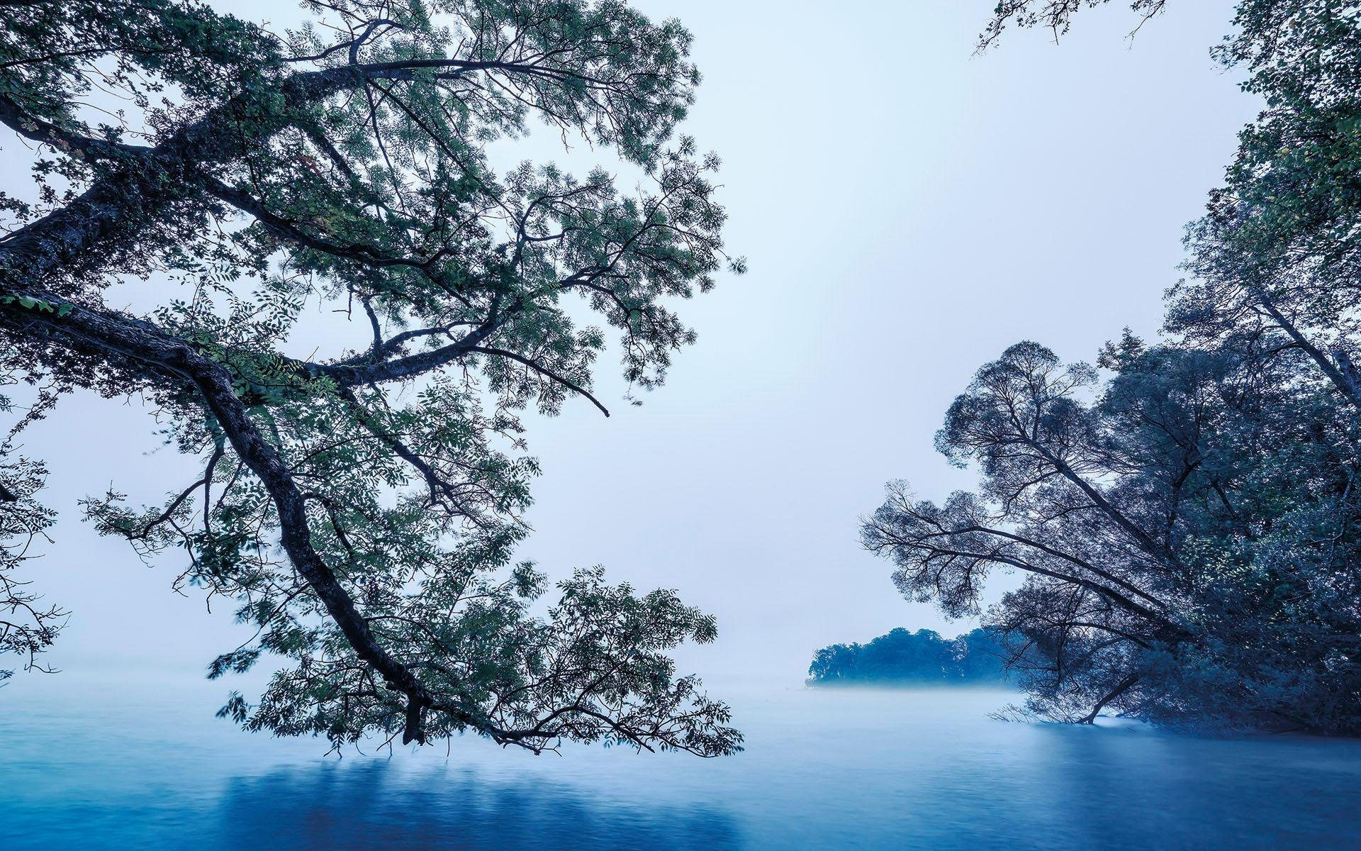 Komar Fototapete »Blue Waters«, 400/250 cm