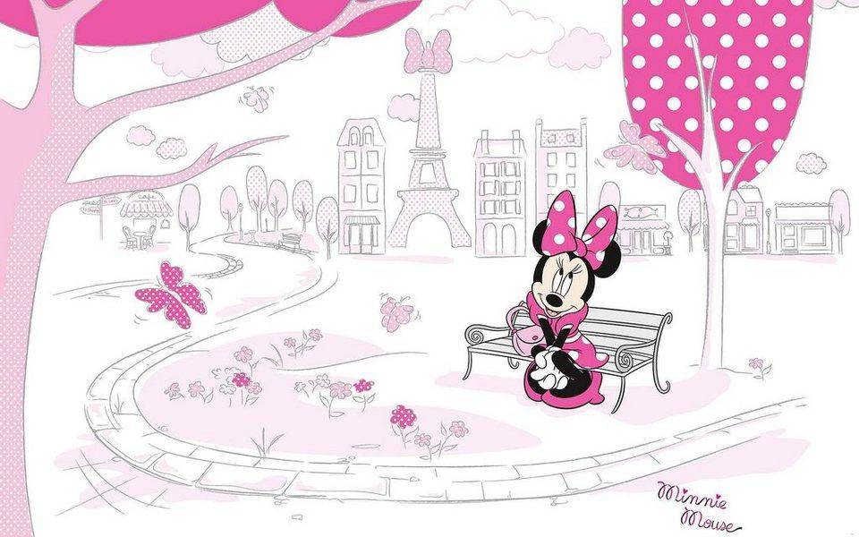 Vliestapete »Minnie in Paris«, Comic online kaufen | OTTO