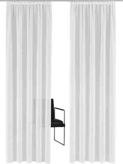 Gardine »Tender«, Guido Maria Kretschmer Home&Living, Kräuselband (1 Stück)