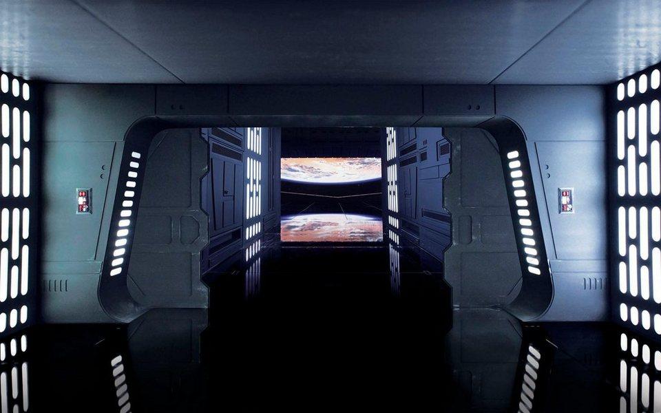 Komar Fototapete »Star Wars Death Star Floor«, 400/250 cm online kaufen    OTTO