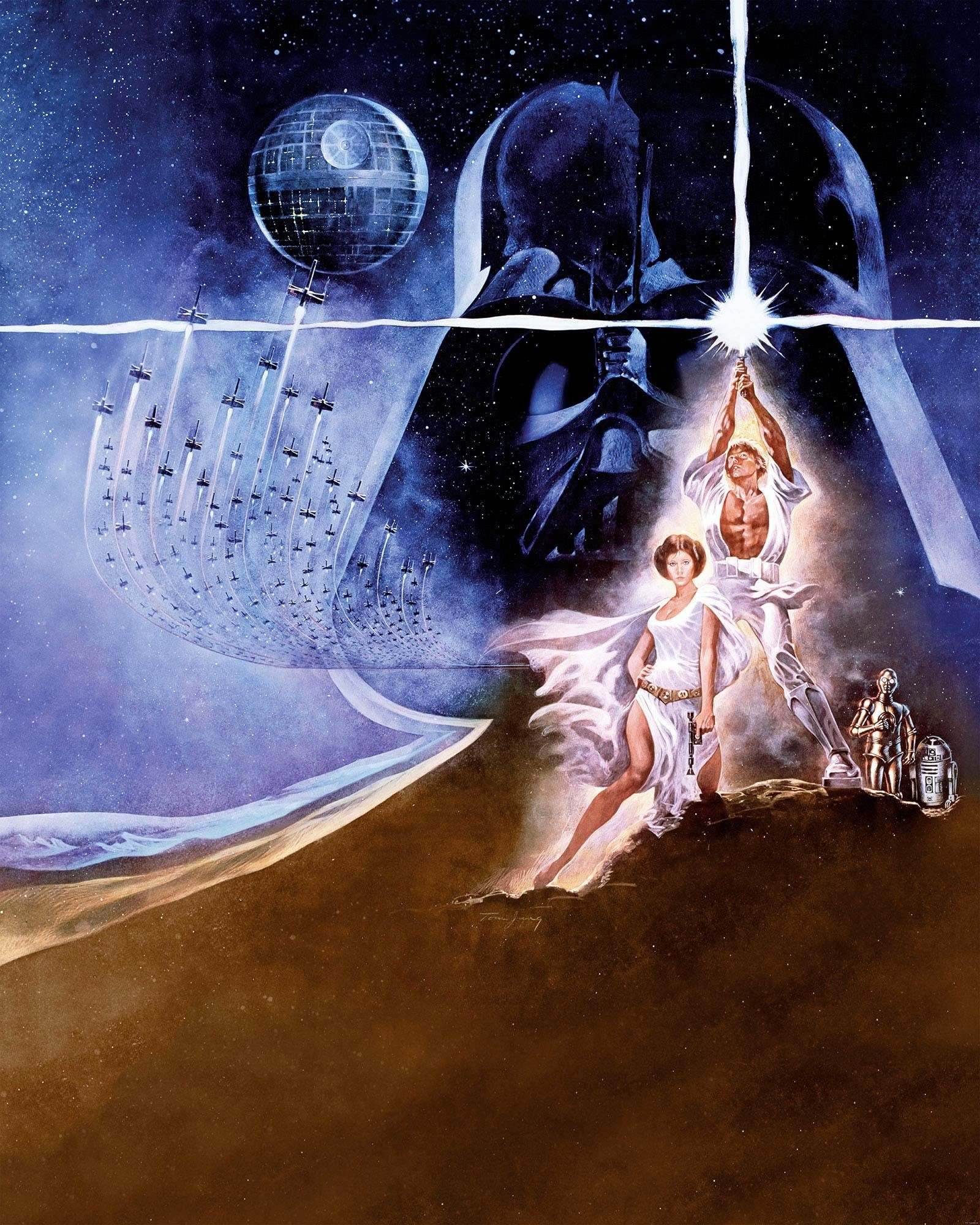 Komar Fototapete »Star Wars Poster Classic2«, 200/250 cm