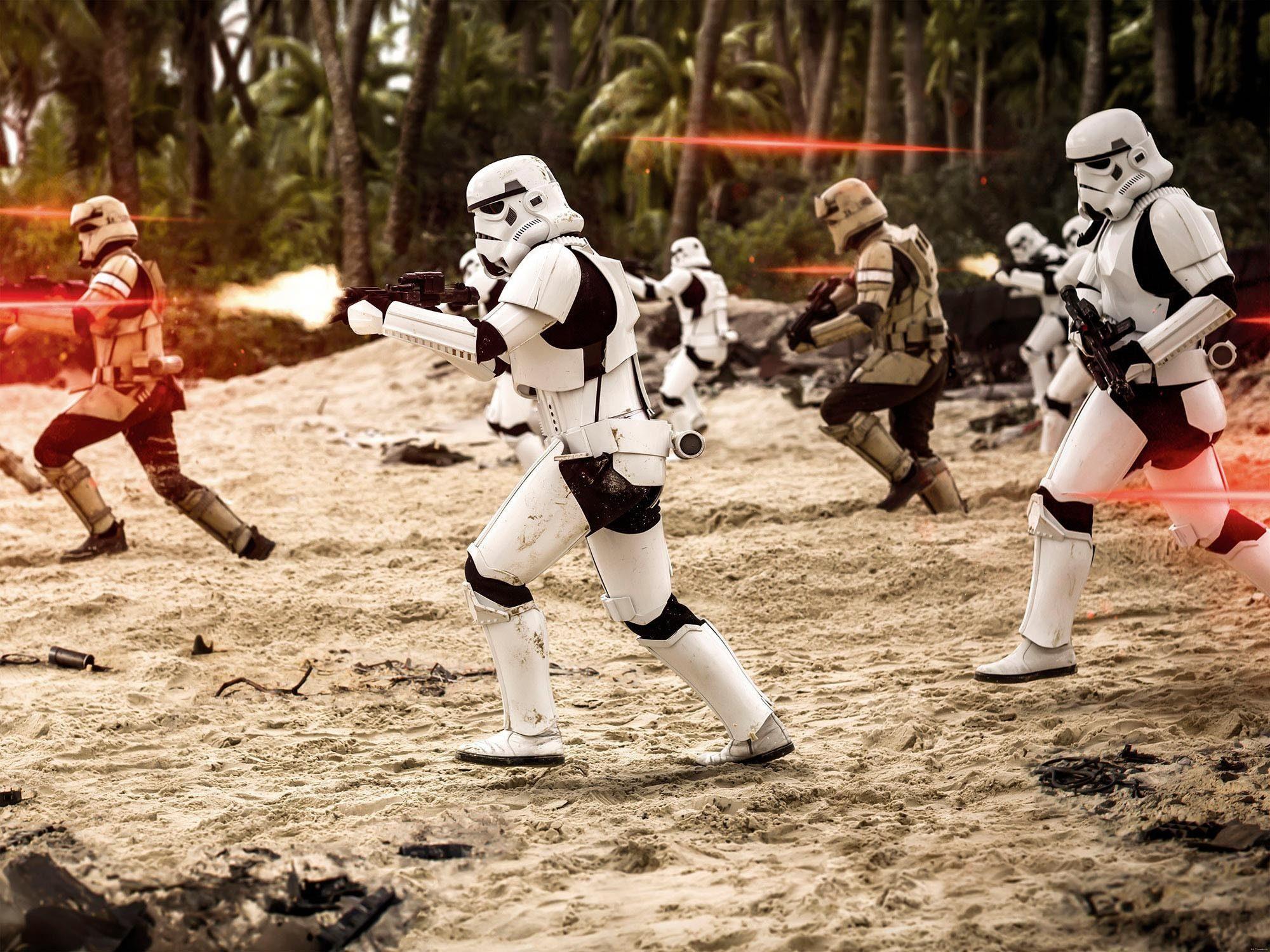 Komar Fototapete »Star Wars Imperial Strike«, 200/250 cm
