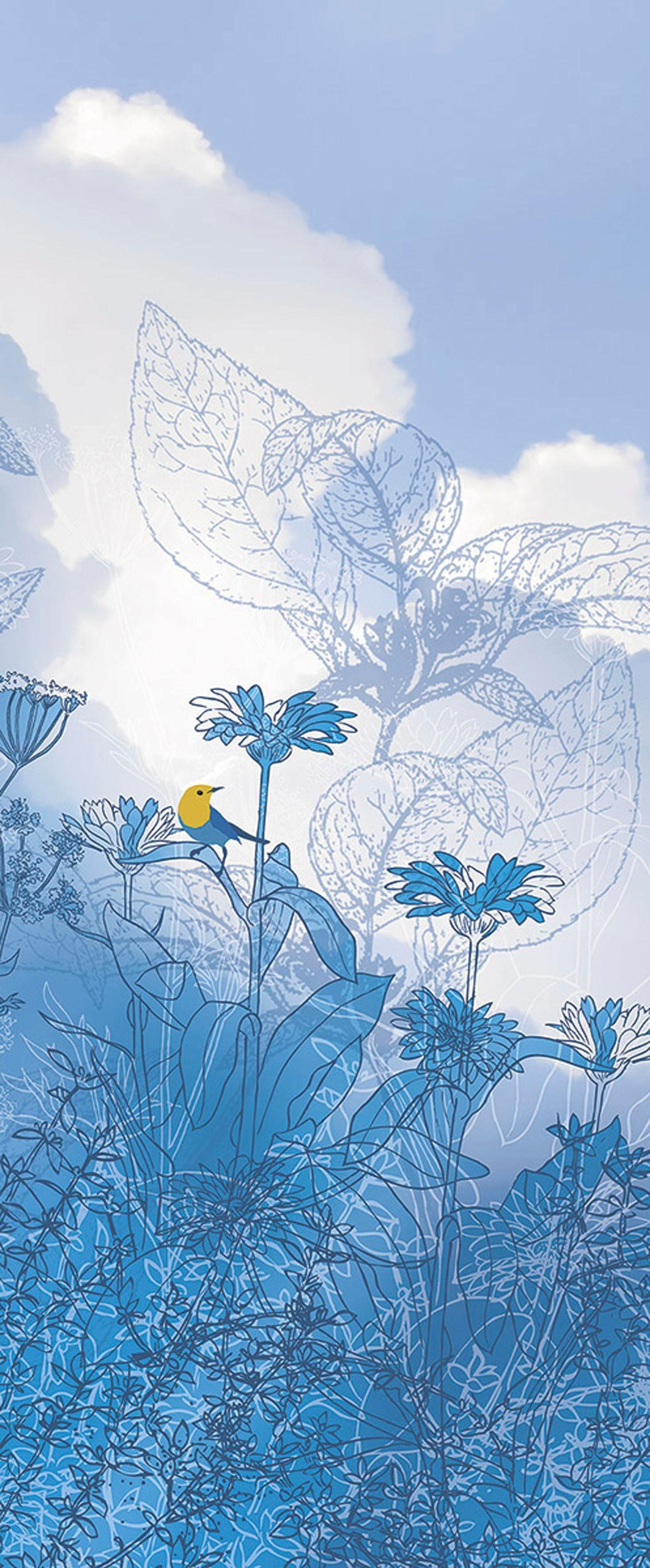 Komar Fototapete »Blue Sky«, 100/250 cm